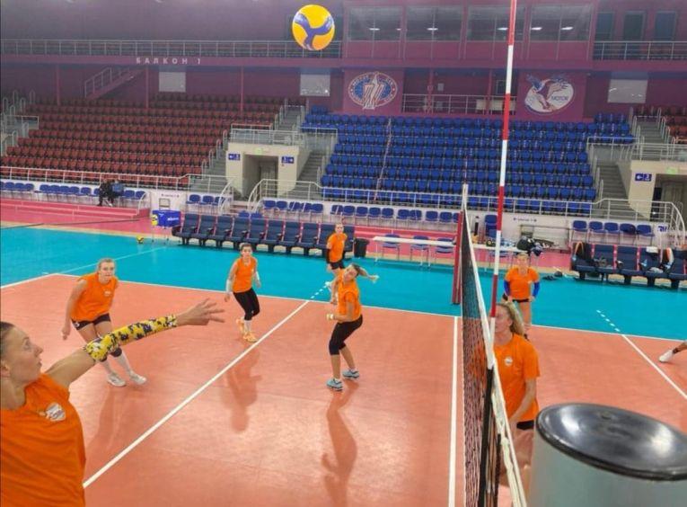 CSM Târgoviște la antrenament în Ucraina