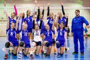 Bucuria fetelor de la Unic Piatra Neamț, după victoria de la Brașov