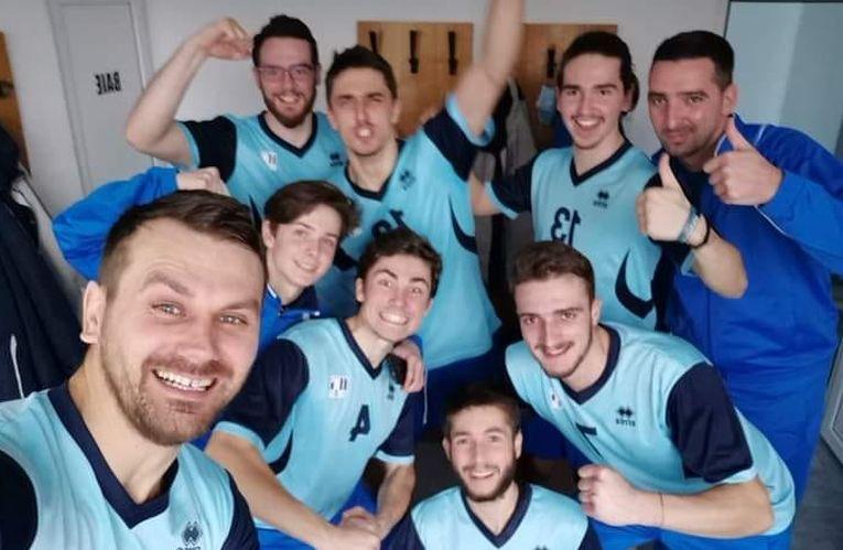 ProVolei Arad, după victoria de la Dej, cu LAPI