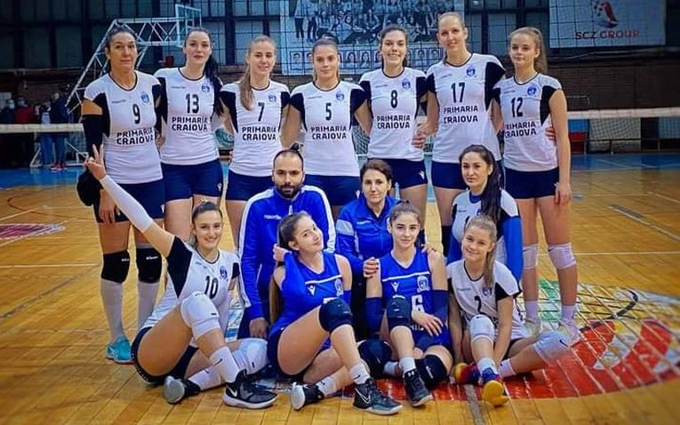 SCM U Craiova la turneul 3 al Diviziei A2 la volei feminin