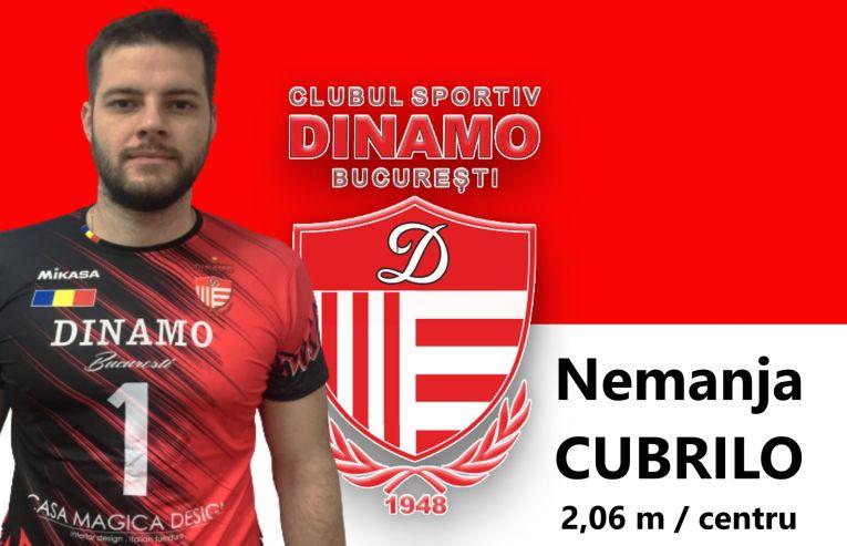 Cubrilo a semnat cu Dinamo în ianuarie 2021