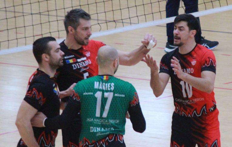 Bucuria jucătorilor de la Dinamo