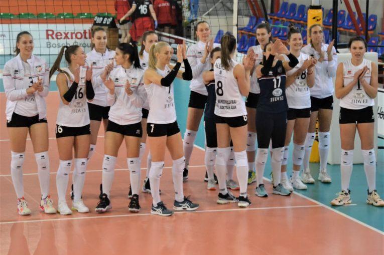 Volei Alba Blaj a obținut o victorie categorică
