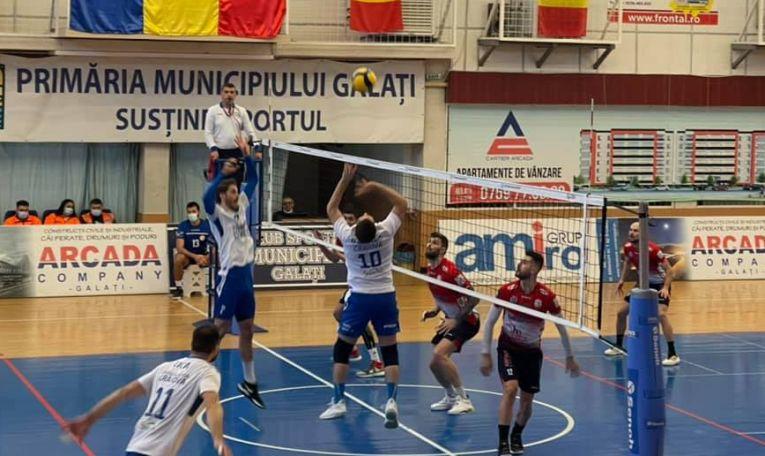 Arcada Galați a învins pe SCM U Craiova