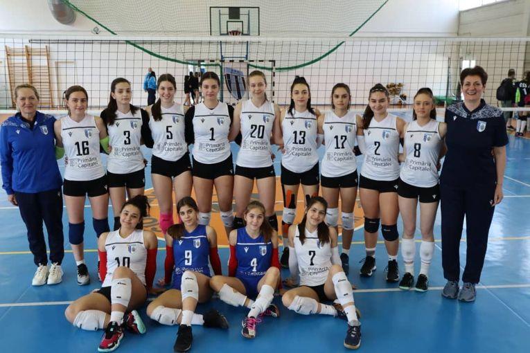 Echipa de cadete CSM București pentru campionatul 2020/ 2021