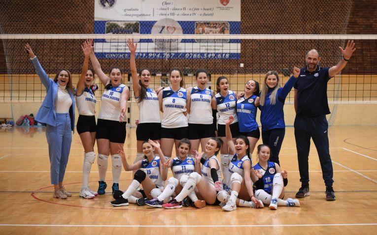 Echipa de cadete CS Medgidia după prima victorie din campionatul 2020/ 2021