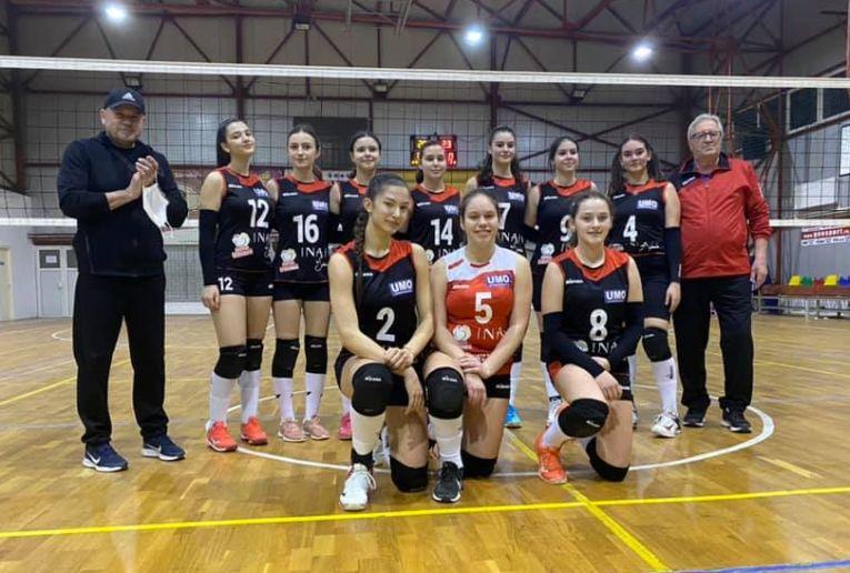 Echipa de cadete CSS Focșani pentru sezonul 2020/ 2021