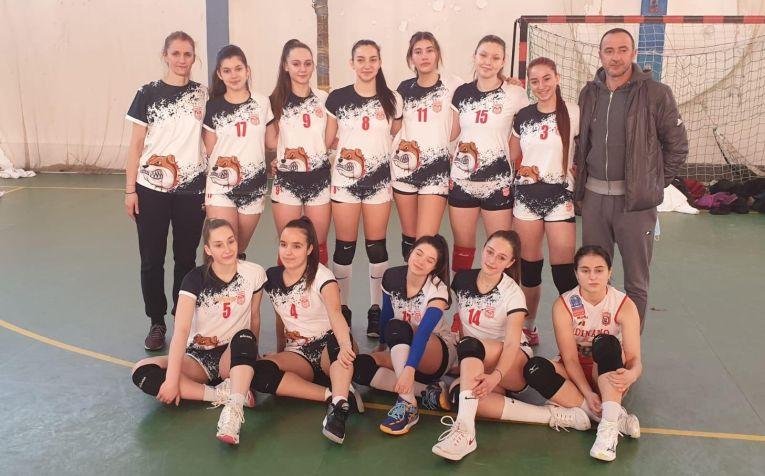 Echipa de cadete Dinamo pentru campionatul 2020/ 2021
