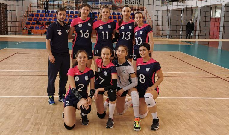 Echipa de cadete Medicina Târgu Mureș în campionatul 2020/ 2021