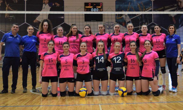 CSU Oradea s-a calificat în turneului fazei a II-a a play-off-ului