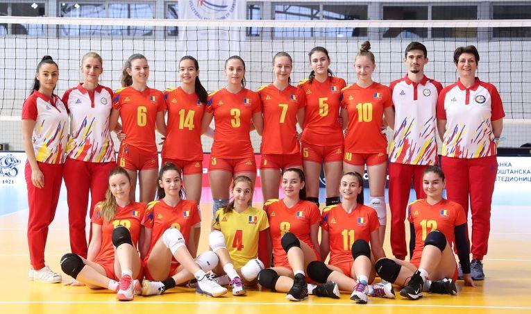 Naționala României Under 16 înaintea primului meci din calificările balcanice pentru Campionatul European