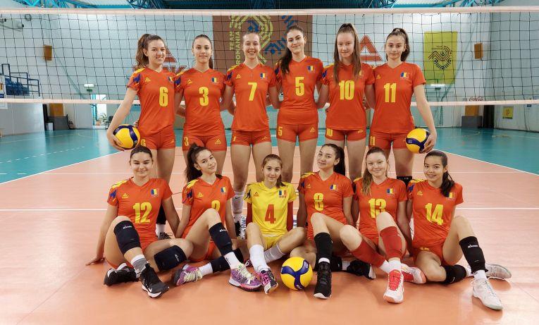 Naționala Under 16 a României, participantă la preliminariile Campionatului European