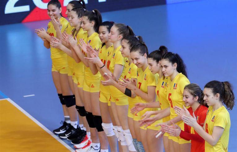 Naționala feminină Under 16 a României