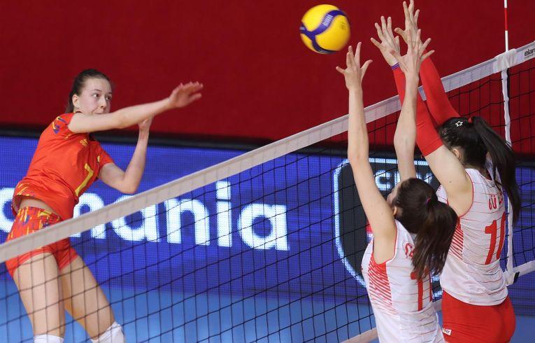 Ștefania Alupei a reușit 8 puncte în primul meci al naționalei României U16 în calificările balcanice