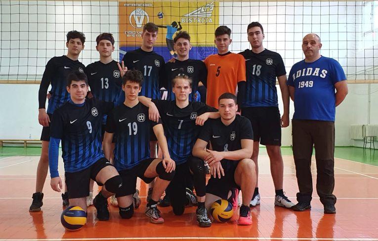 Echipa de juniori LPS Bistrița la turneul 2 al campionatului