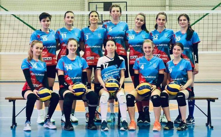 Echipa de junioare Bravol Brașov pentru campionatul 2020/ 2021