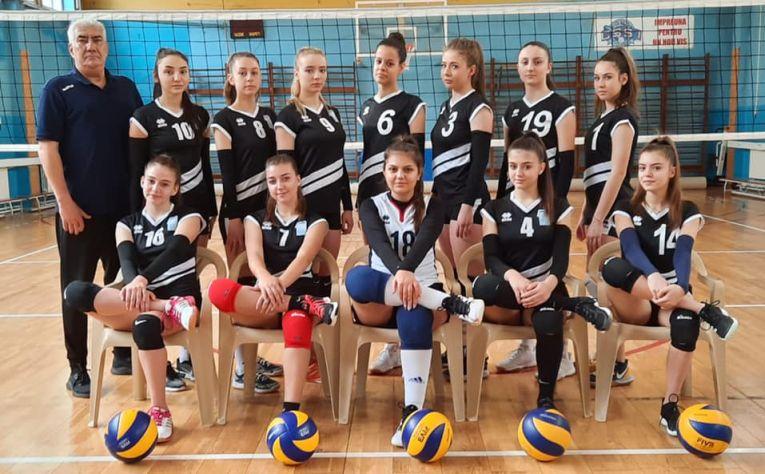 Echipa de junioare CSS 1 Constanța pentru campionatul 2020/ 2021