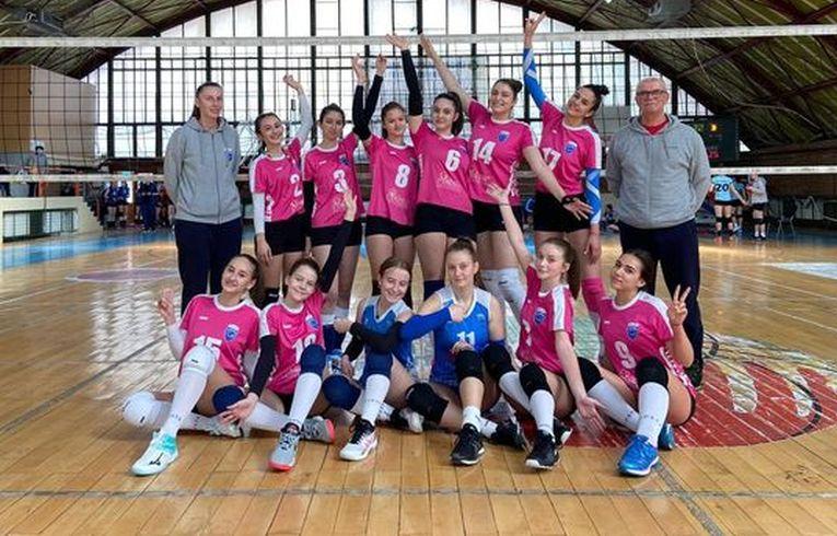 Echipa de junioare CSS Lugoj pentru campionatul 2020/ 2021