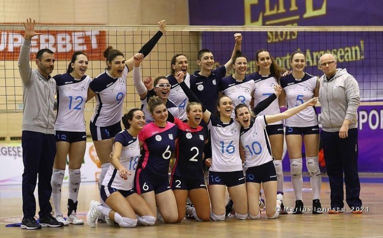 Medicina Târgu Mureș, după cea mai importantă victorie obținută în acest campionat