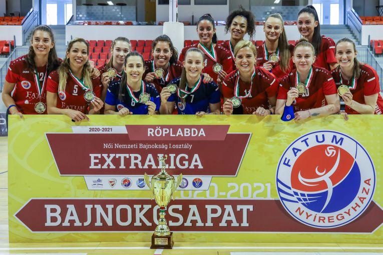 Fatum Nyiregyhaza a cucerit titlul în Ungaria în campionatul 2020/ 2021