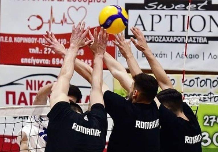 Blocajul echipei României a fost depășit de multe ori de jucătorii greci