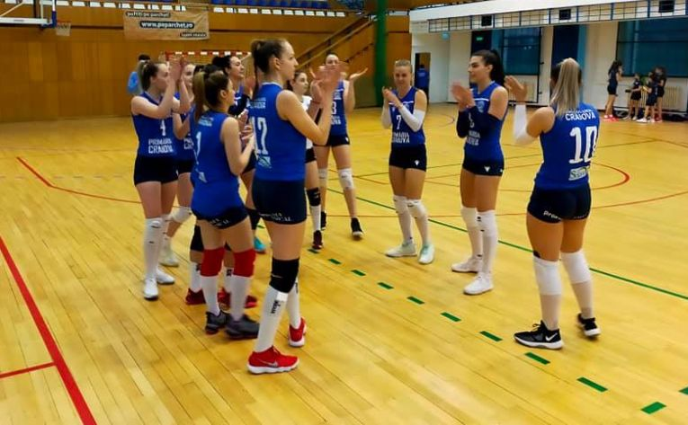 SCMU Craiova a promovat în Divizia A1 la volei feminin