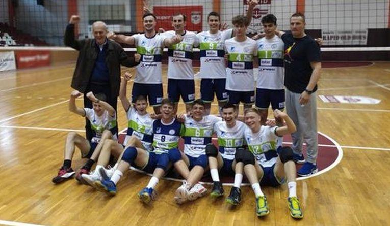 Titanii ASE București a promovat în Divizia A1