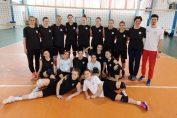 Naționala feminină Under 16 a României s-a antrenat la București