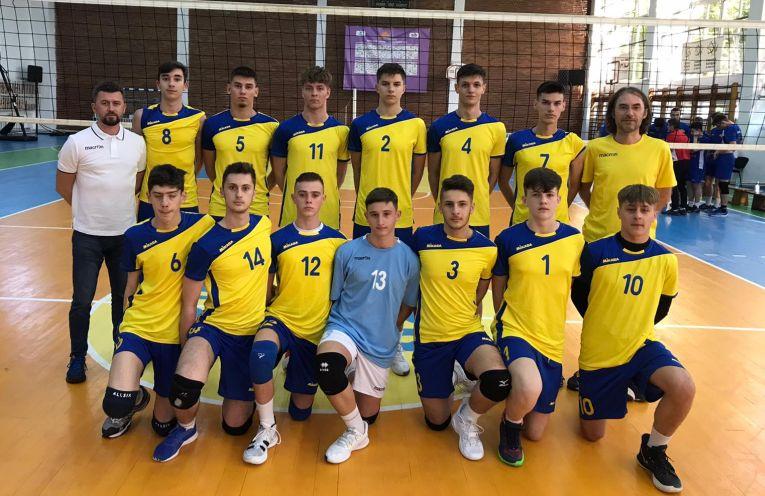 Echipa de cadeți CTF Mihai I, la turneul final