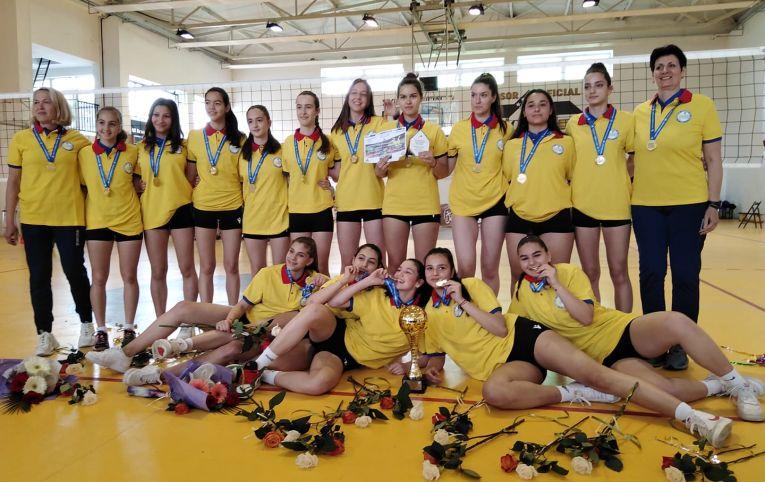 CSM București este campioana cadetelor în campionatul 2020/ 2021
