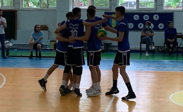 Bucuria formației de cadeti CTF Mihai I