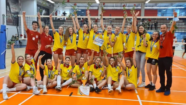 Dinamo, noua campioană la volei junioare