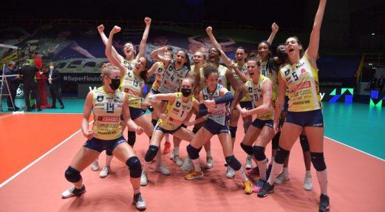 Imoco Conegliano a câștigat în premieră Liga Campionilor la volei feminin