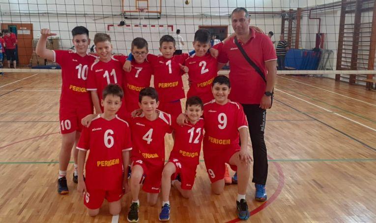 Echipa de minivolei CSS Tulcea din campionatul 2020/ 2021