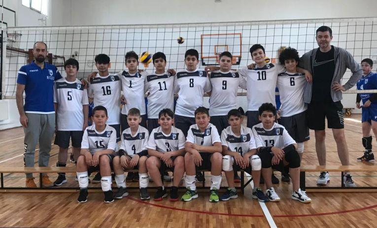 Echipa de minivolei CSM București 1 din campionatul 2020/ 2021