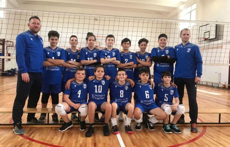 Echipa de minivolei CSM București 2 din campionatul 2020/ 2021