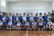 Echipele de minivolei CSM București 1 si CSM București 2