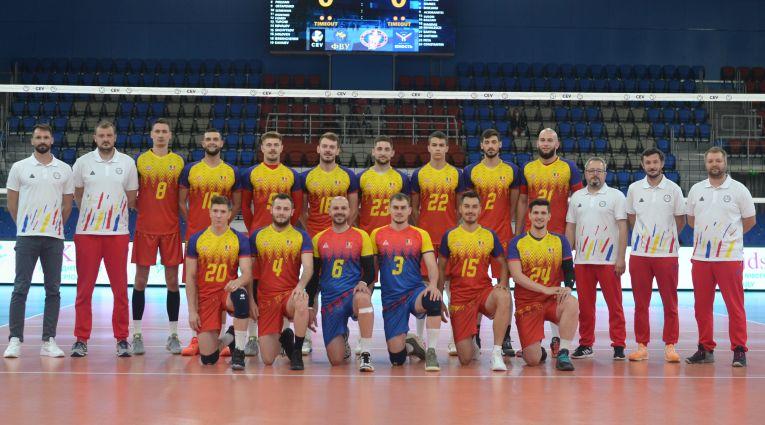 Daniel Chițigoi a purtat numărul 22 la primul meci în naționala de seniori a României