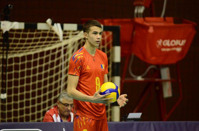 Daniel Chițigoi, la naționala Under 17 a României