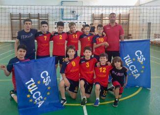 Echipa de minivolei CSS Tulcea la turneul final 2020/ 2021