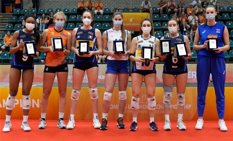 Echipa ideală a Campionatului Mondial Under 20 a avut cinci italience (