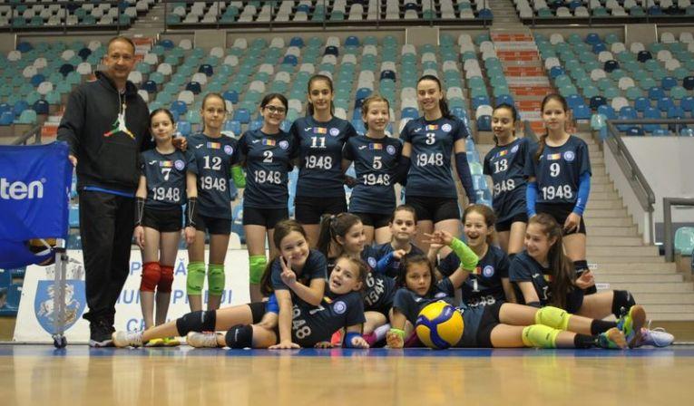 Echipa de minivolei CSV Craiova