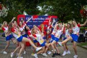 Voia bună a dominat la vizita naționalei României la Blaj
