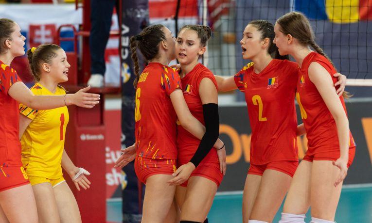 Naționala României Under 16, după un punct câștigat la Europene