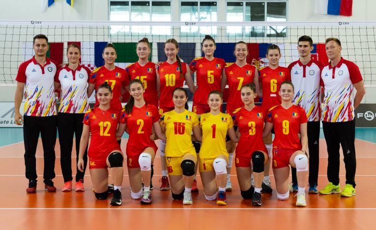Naționala Under 16 a României, înaintea primului meci de la Campionatul European