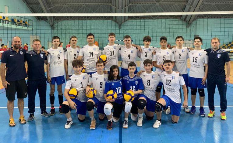 Echipa de speranțe CSM București la turneul final al campionatului 2020/ 2021