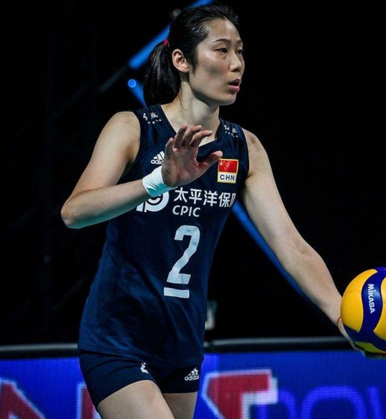 Zhu Ting este căpitanul campioanei olimpice, China