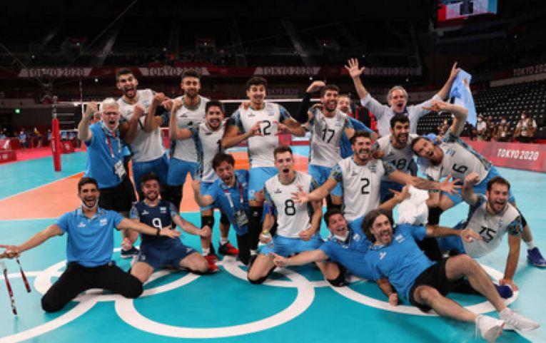 Argentinienii și bucuria cuceririi medaliei de bronz la Jocurile Olimpice