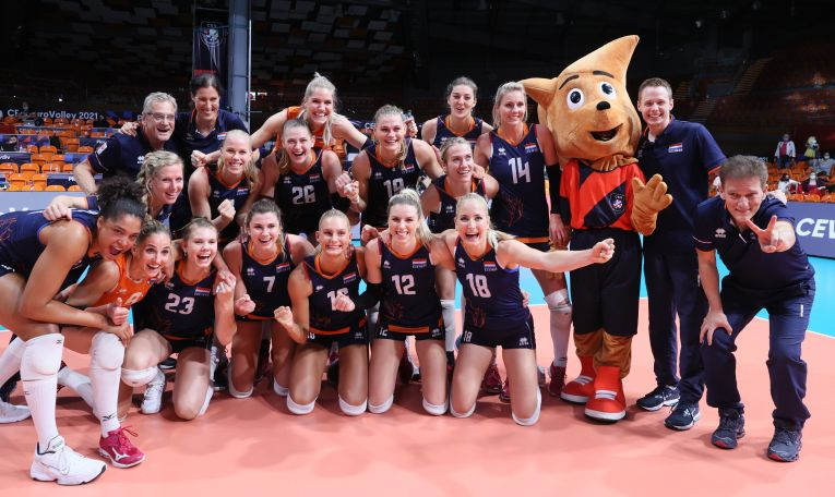 Olandezele s-au calificat în semifinalele Campionatului European 2021