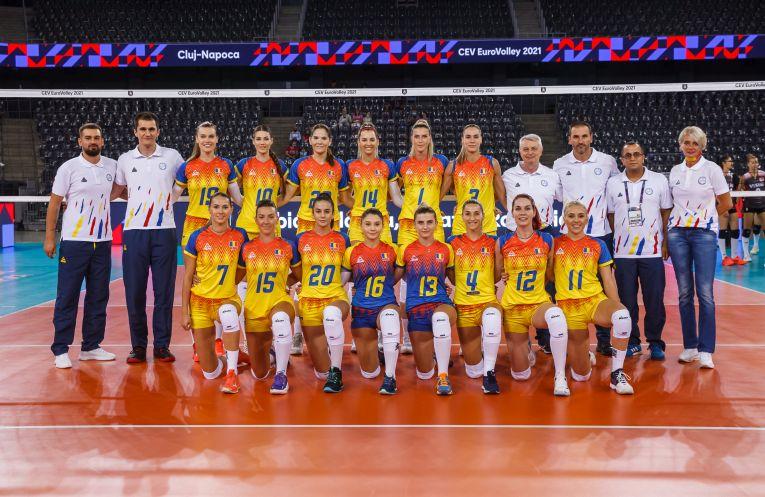 Naționala feminină de volei a României la Campionatul European 2021 de la Cluj-Napoca
